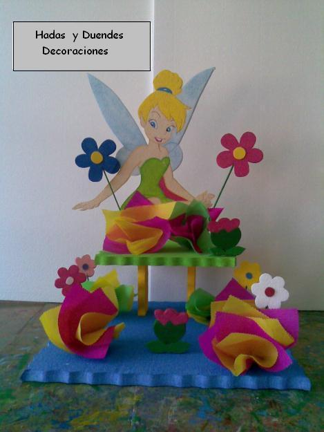 Fiestas tematica de Tinkerbell - Imagui