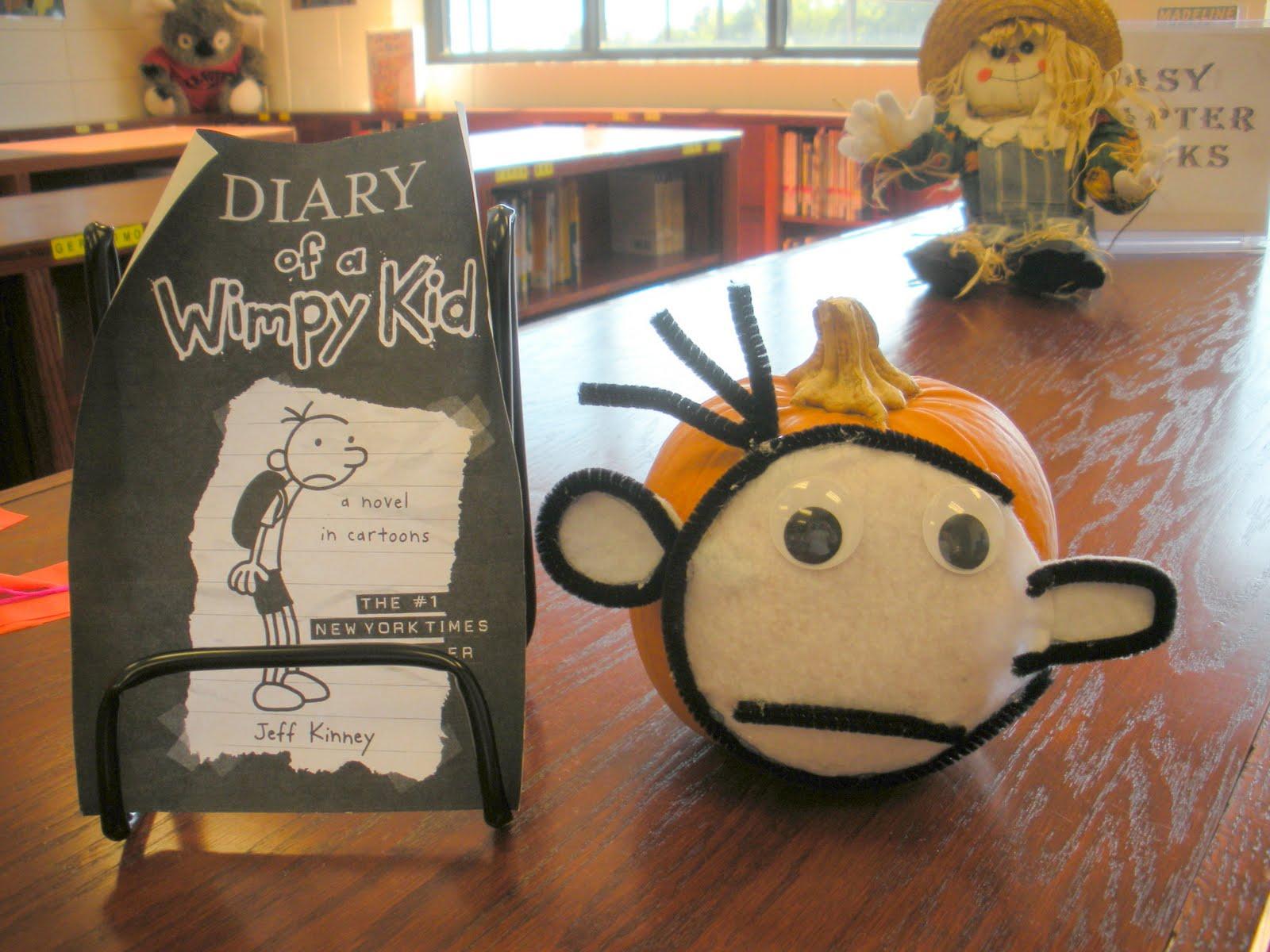 Book Character Pumpkin Decorating