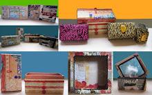 Collages serviettes & tissus