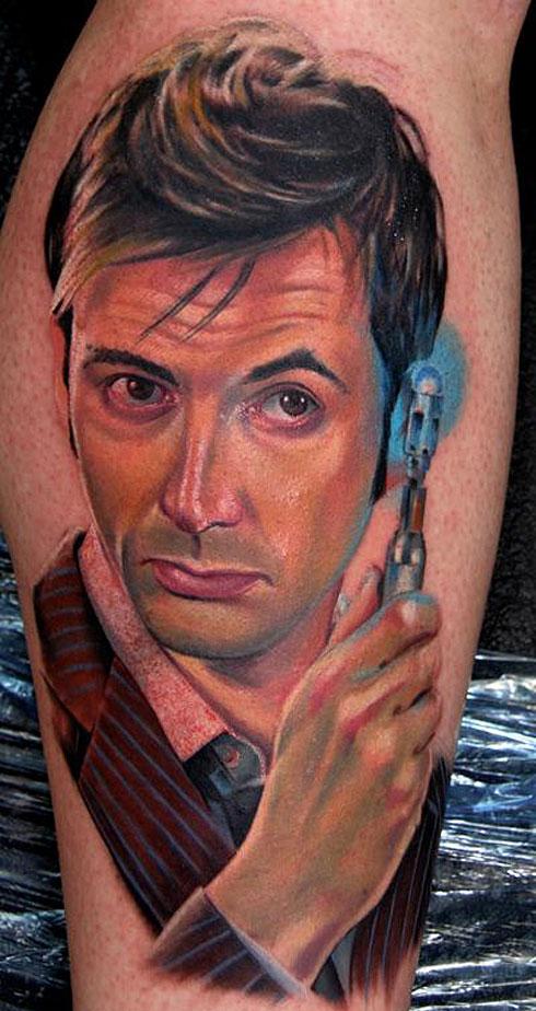 nerd tattoos dr who tattoos