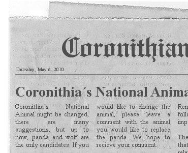 Coronithian Post