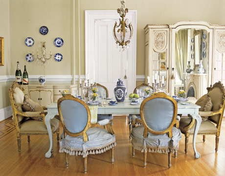 Annie Brahler Extraordinary With Vintage Dining Room Decorating Ideas Image