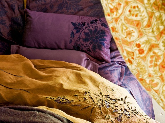 Gypsy purple decorating find art decoration for Housse de couette translation