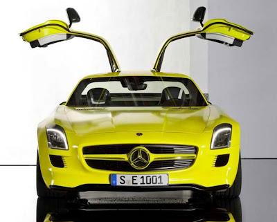 2010 Mercedes-Benz SLS AMG E-Cell Concept