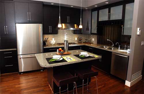 Contemporary Kitchen Designs | Decorating Ideas for Living Room