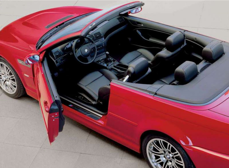 BMW M3 Convertible Interior Design