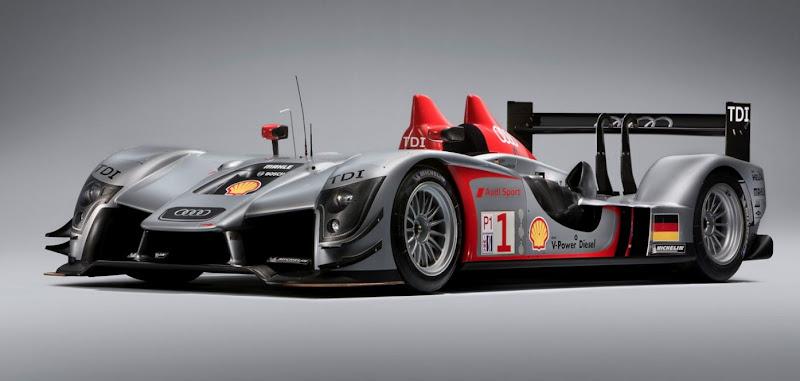 Sportscar Audi R15 TDI
