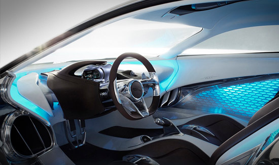 Jaguar's C-X75 Car With Electric Motor