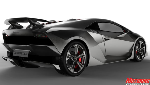 New Lamborghini Sesto Elemento Design Review