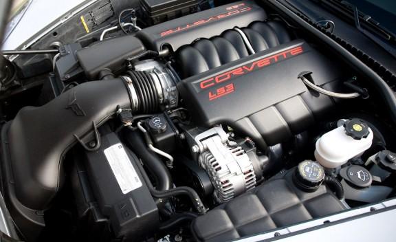 2010 Chevrolet Corvette Grand Sport Engine