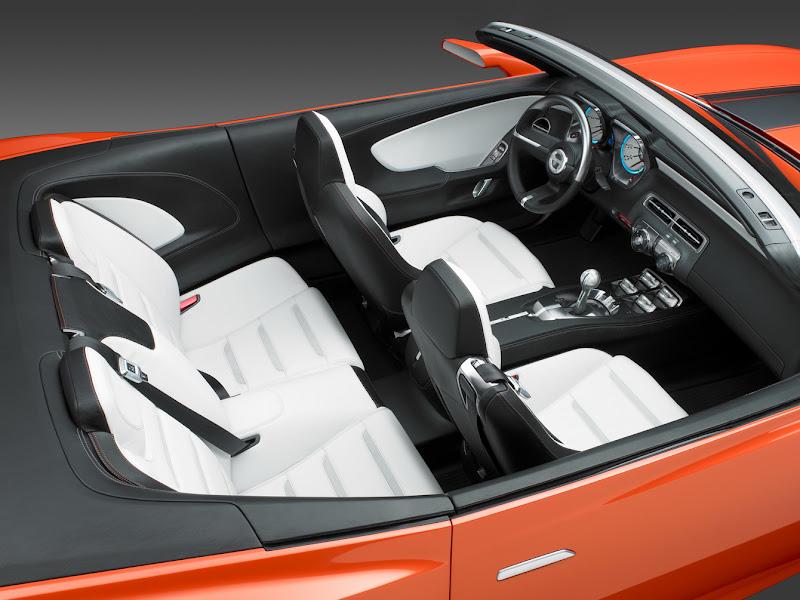 2013 Camaro Convertible Interior Design