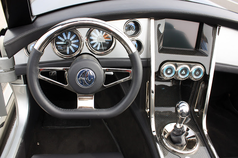 2012 Iconic AC Roadster Interior Design