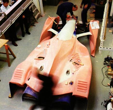 Model Prototype Red Bull X1
