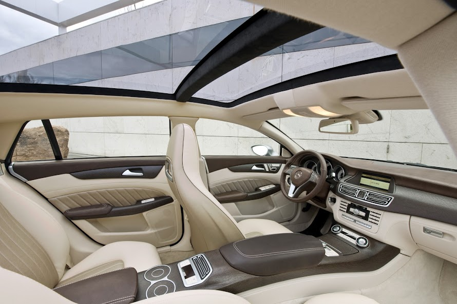 Mercedes-Benz CLS Shooting Brake Interior Detail