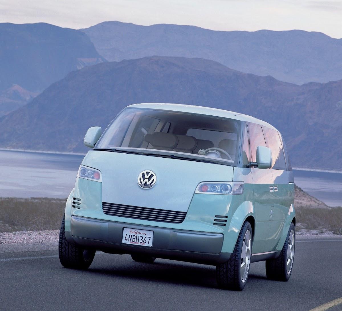 2010 Volkswagen Microbus Concept