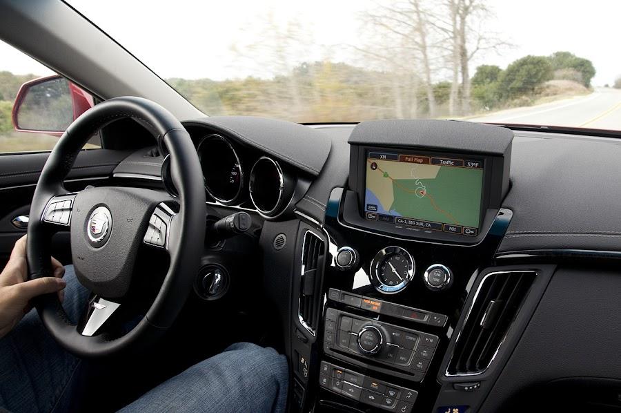 2011 Cadillac CTS-V Wagon Interior Design