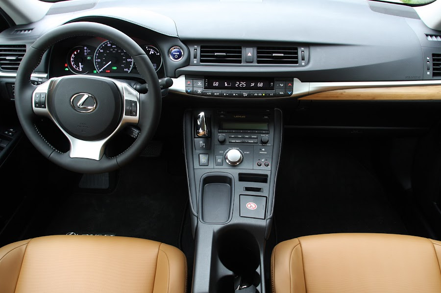 2012 Lexus CT 200h Interior Design