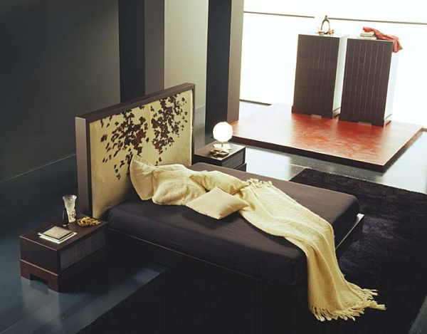 Home Decorating With An Asian Theme Bed Room