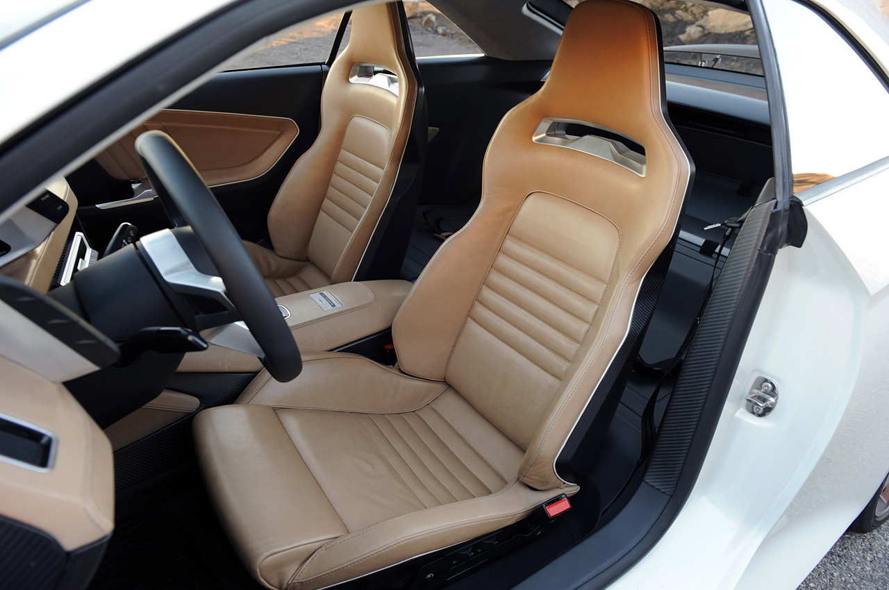 Audi Quattro Concept Interior
