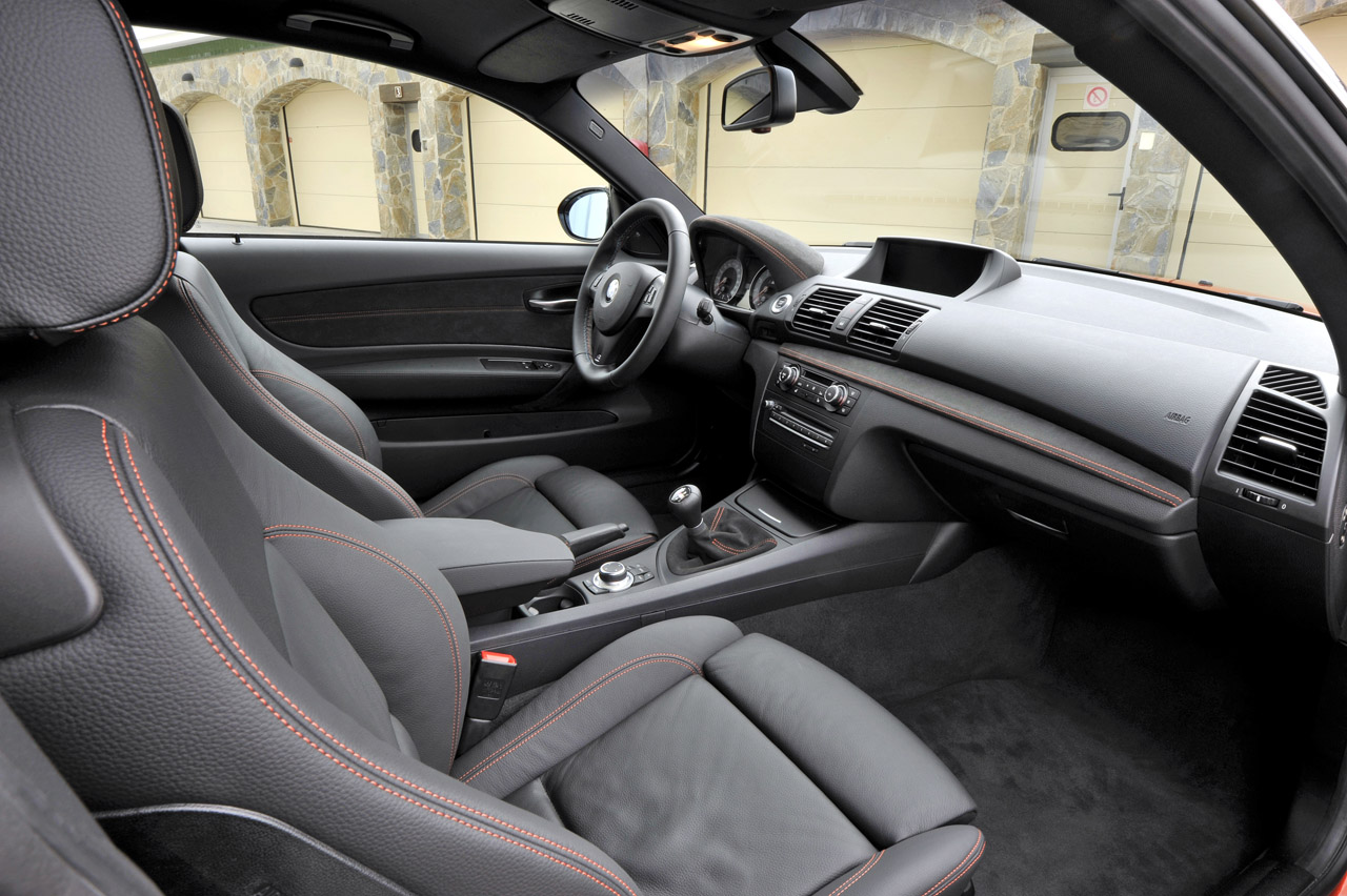 2012 BMW 1 Series M Coupe Interior Design