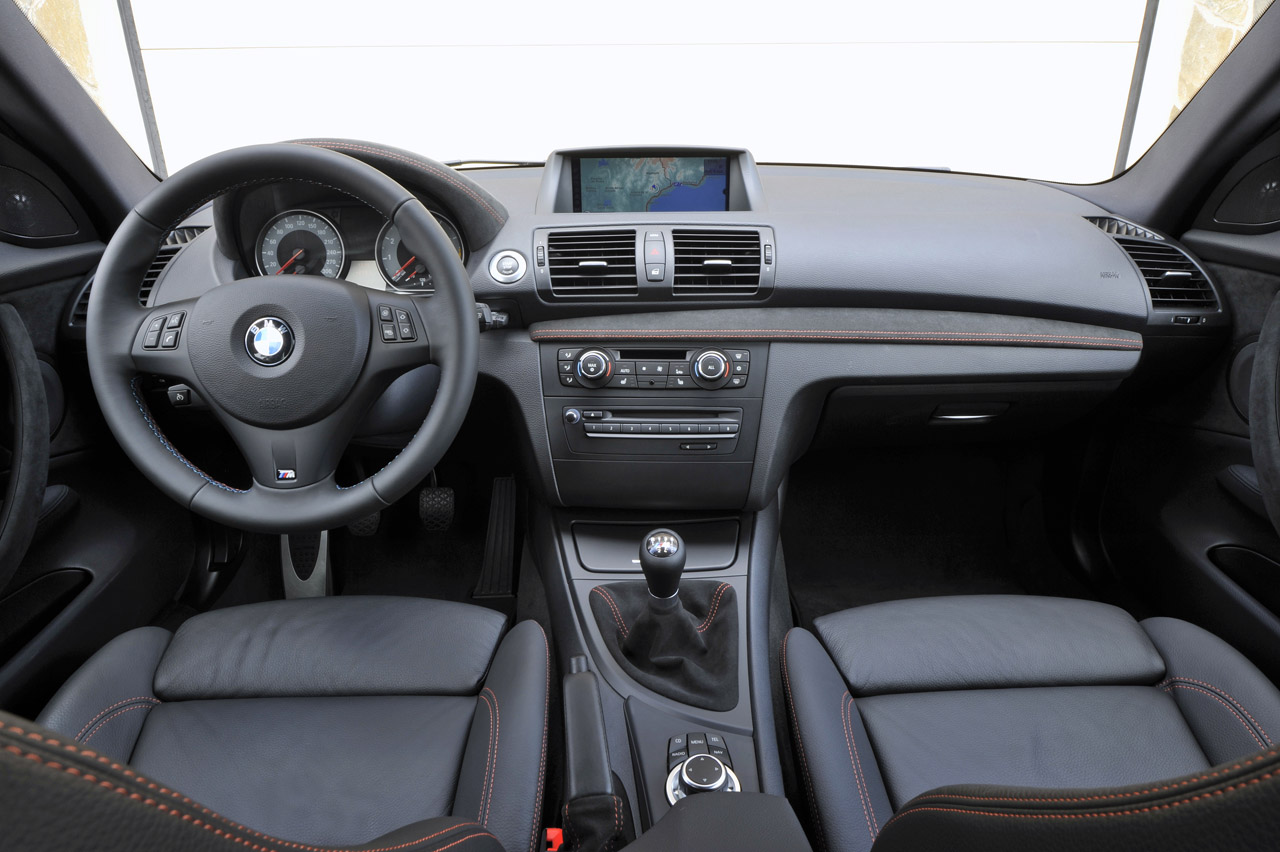 2012 BMW 1 Series M Coupe Dashboard Specification