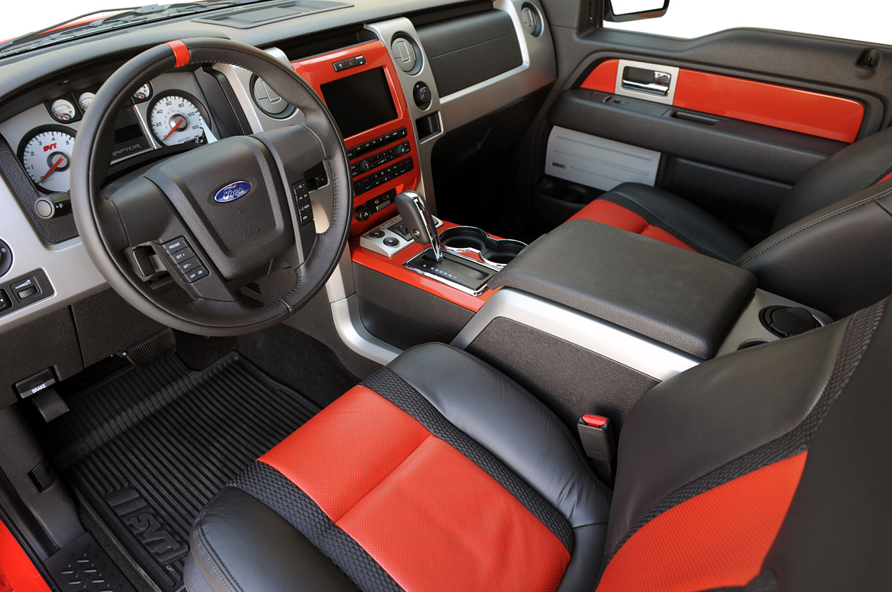 2010 SVT Raptor 6.2 Ford F-150 Interior Design