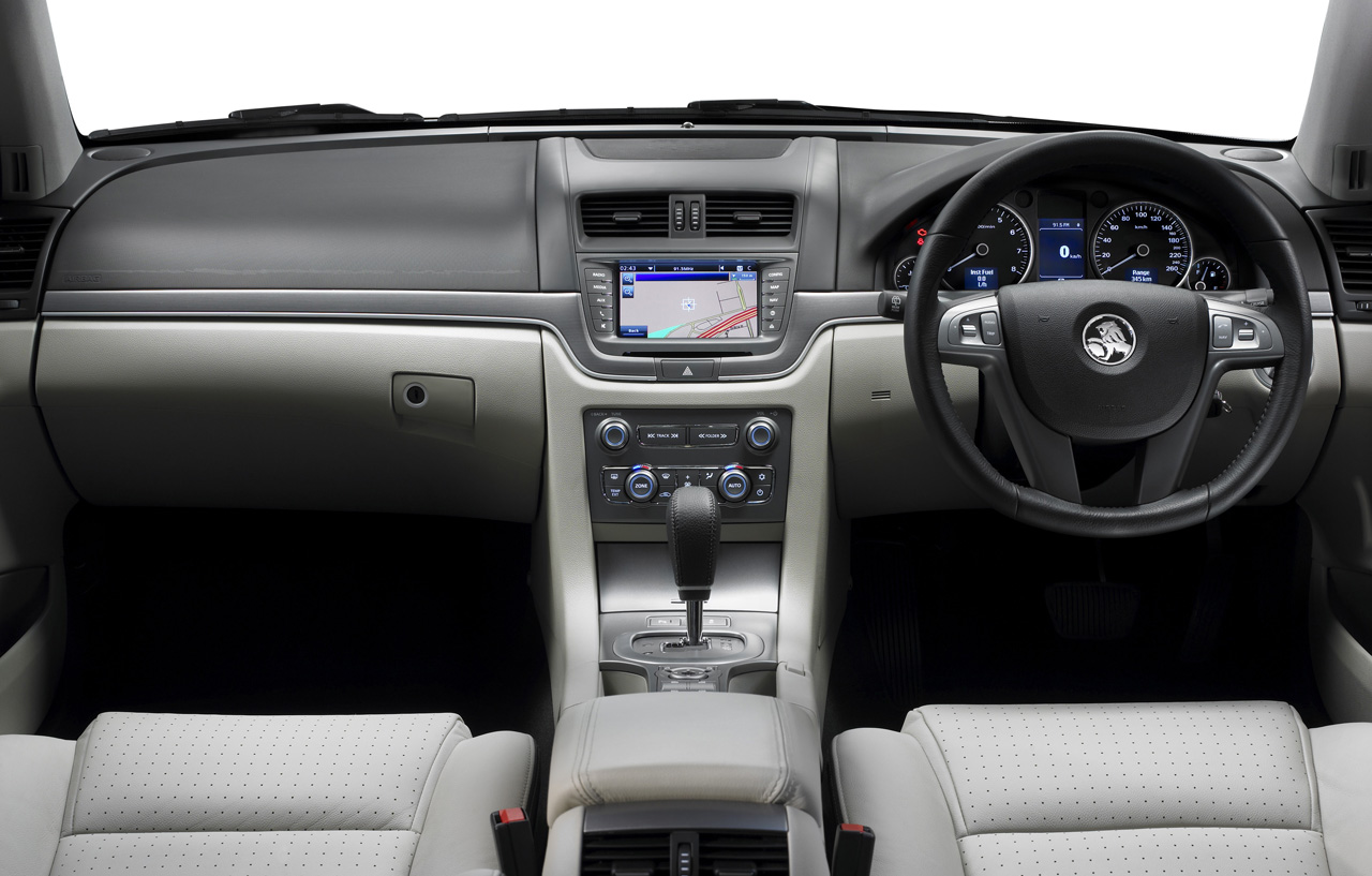 2011 Holden VE Series II Commodore Interior Design