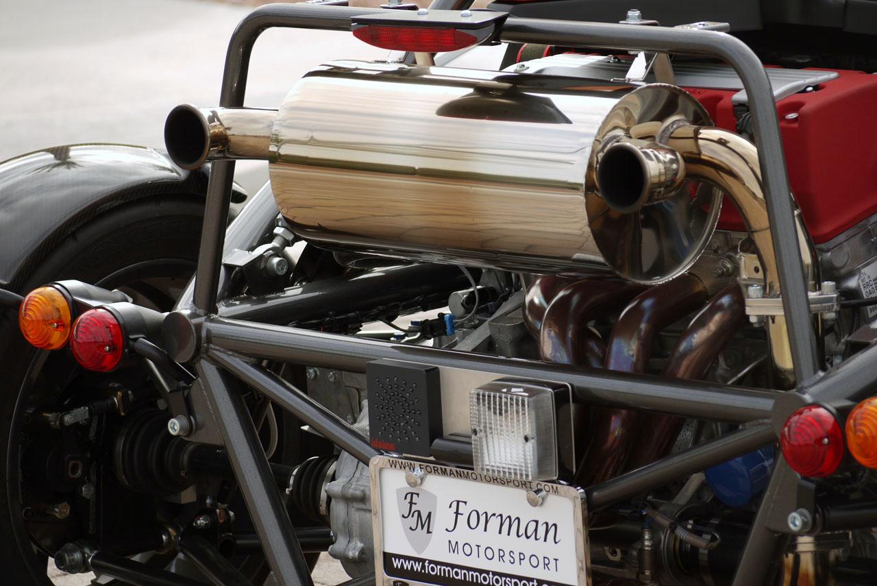 2010 Ariel Atom 3 Engine Design