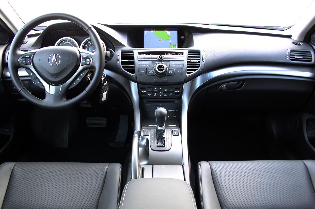 2011 Acura TSX Sport Wagon Interior Design