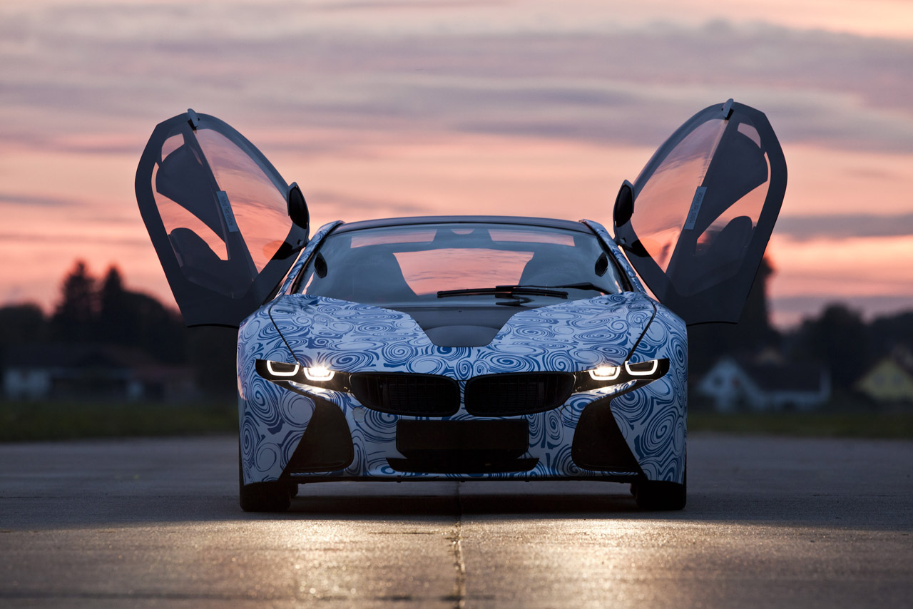 BMW Vision Efficient Dynamics Prototype Design