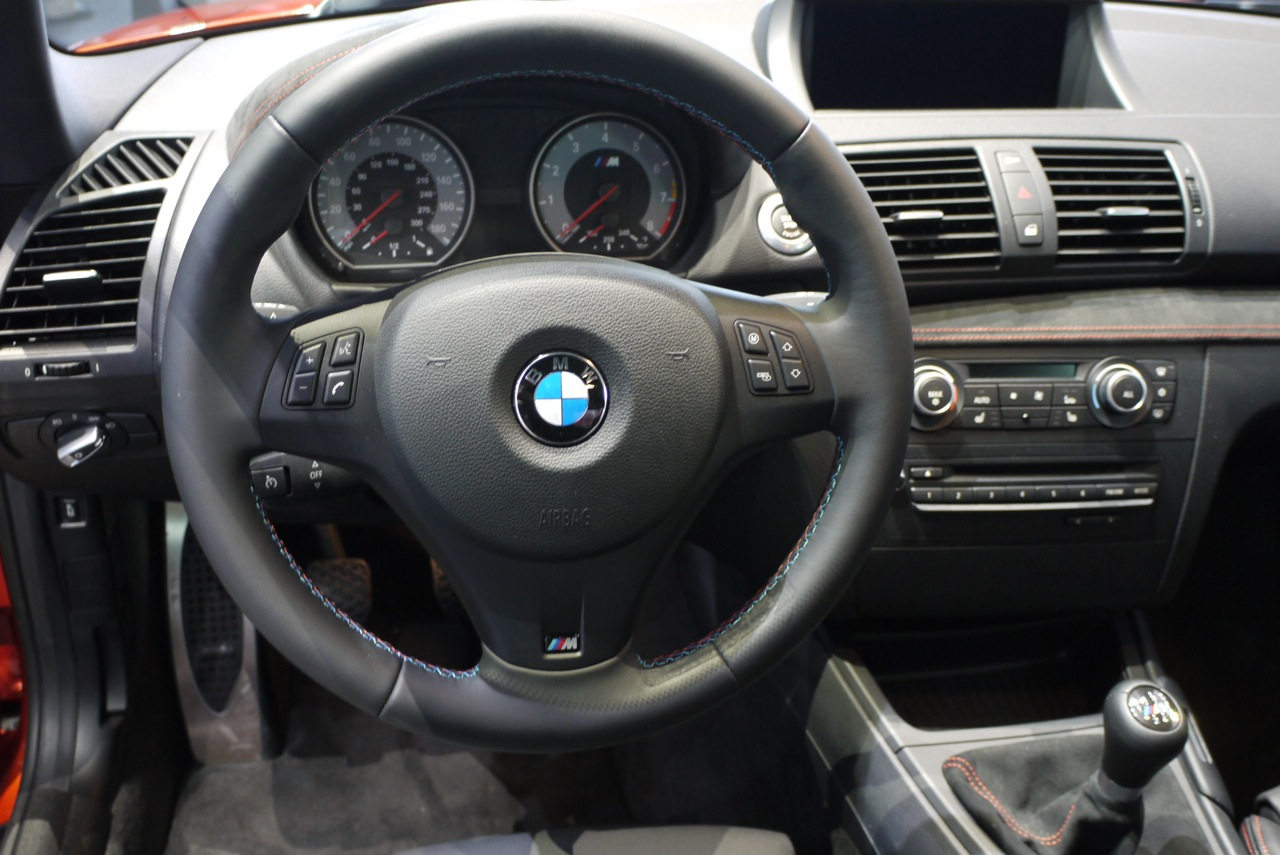 2012 BMW 1 Series M Coupe Interior Design