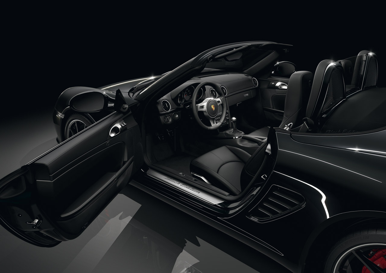 2012 PORSCHE BOXSTER S BLACK EDITION INTERIOR DESIGN