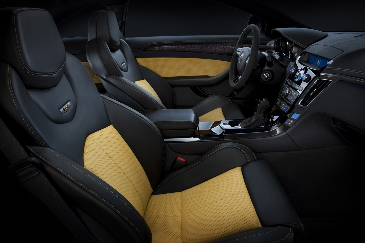 CADILLAC CTS-V BLACK DIAMOND EDITION INTERIOR DESIGN