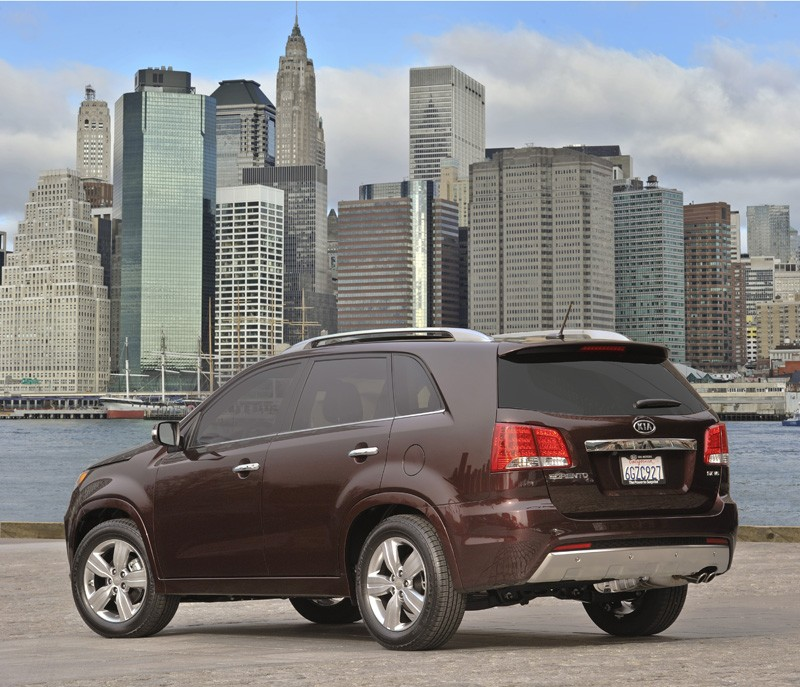 2011 KIA SORENTO SX HD WALLPAPER