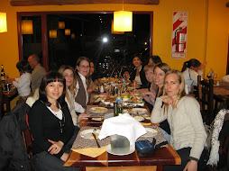 Reunion de colegas en Trelew