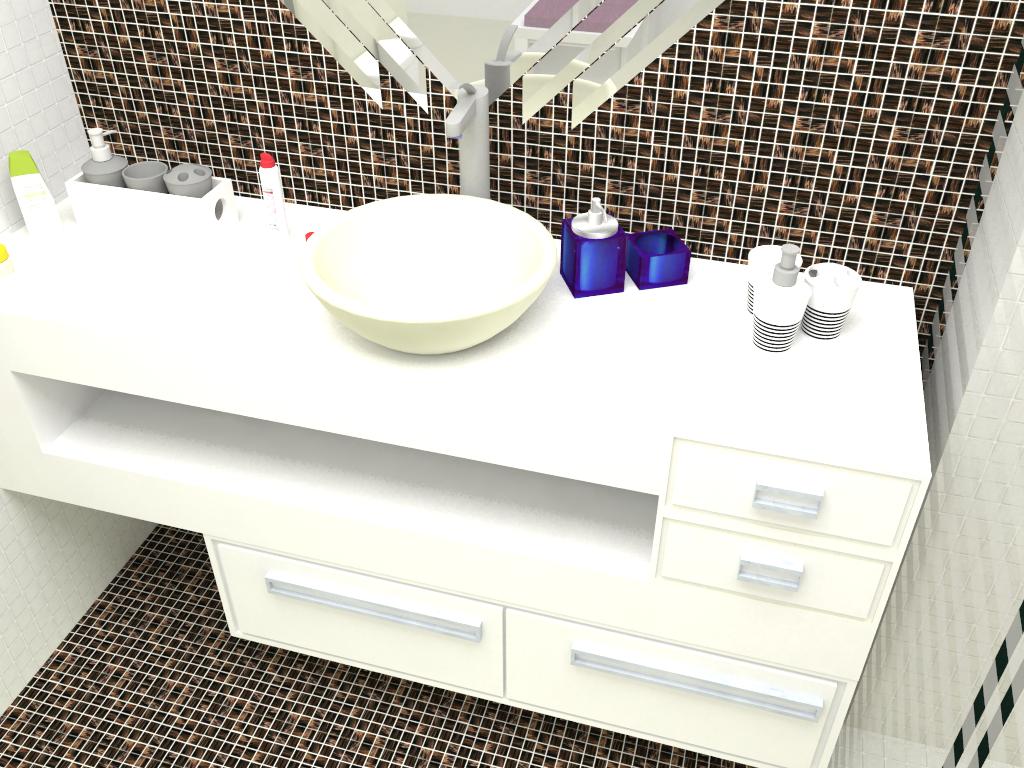 Banheiro & Closet #2444A7 1024x768 Banheiro Com Closet E Banheira