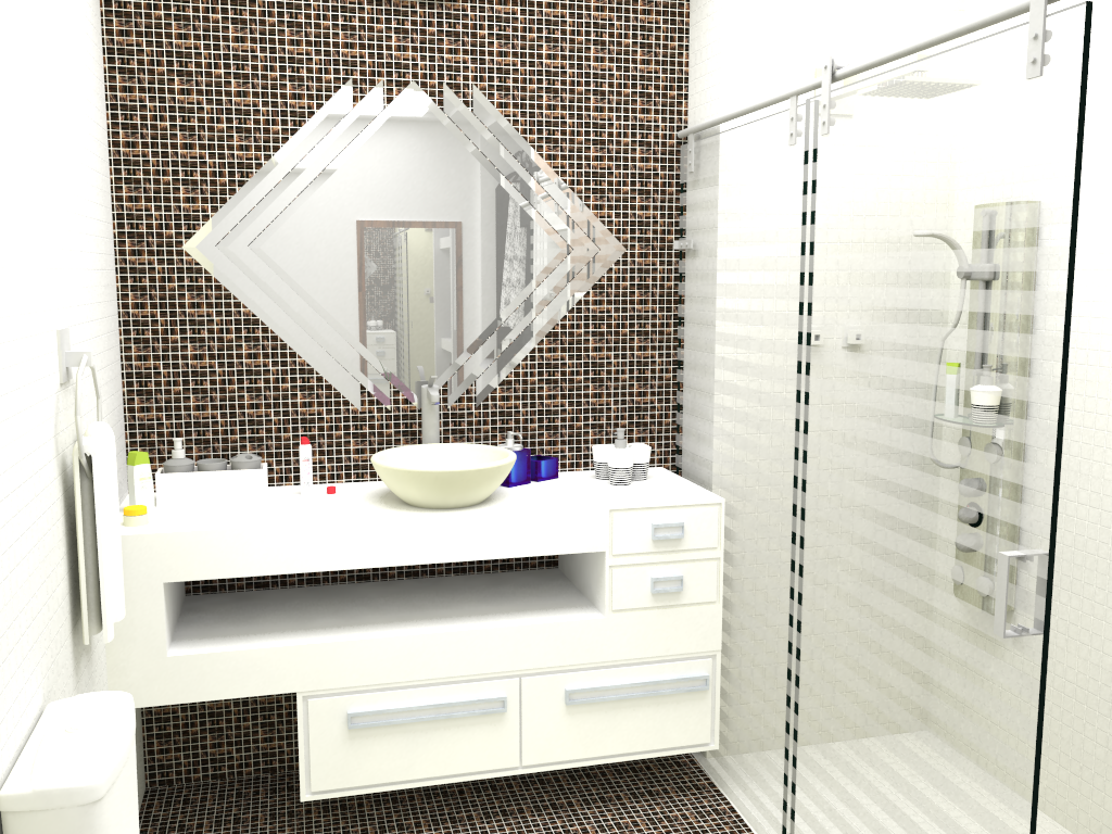 Banheiro & Closet #AFB318 1024x768 Banheiro Closet