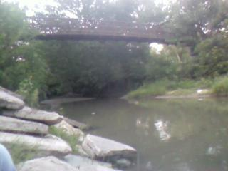 Another Pic at Frontier Park .. the bridge and river