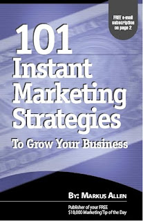 101 Instant Marketing Strategies by Markus Allen