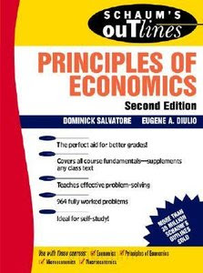 Schaum Principles Of Economics by Dominick Salvatore