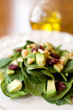 Spinach Salad with White Balsamic