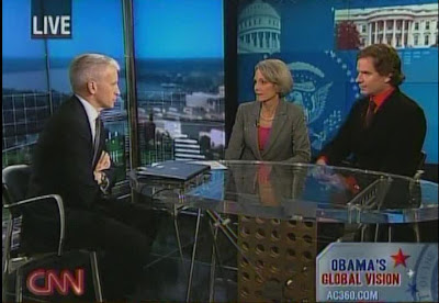 Anderson Cooper CNN AC360 Jill Dougherty Peter Bergen November 7, 2008