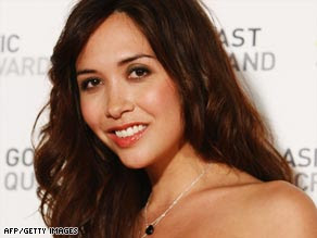 CNN's Myleene Klass Asia Pacific Screen Awards November 2008