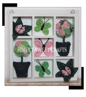 Simply sweet crafts wall decor for girls bedroom for Bedroom wall decor crafts