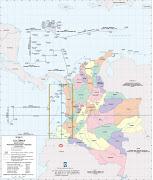 Nuevos vientos soplan este verano con destinos diferentes al año pasado. mapa colombia guapi