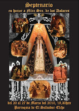 CARTEL SEPTENARIO VIRGEN DE LOS DOLORES