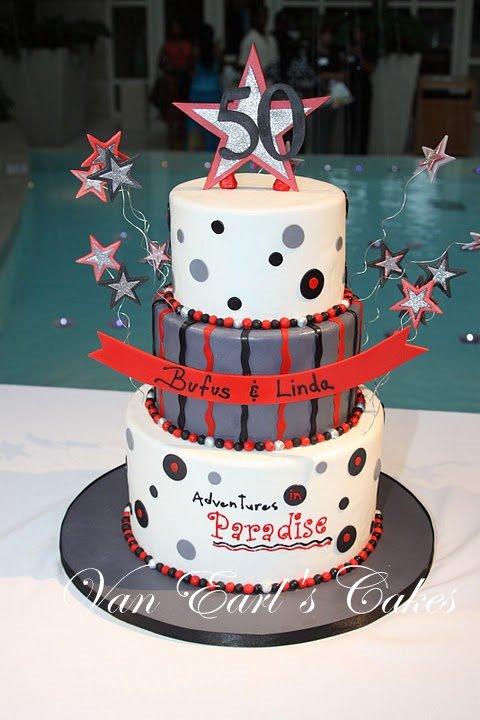 Van Earls Cakes 50th Birthday Celebration
