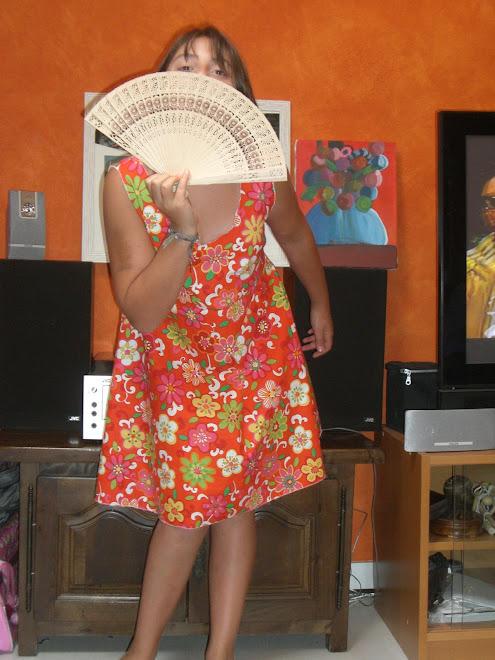 robe d'été fleuri pour farniente sur la plage