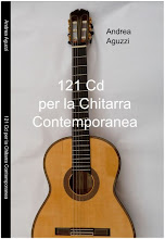 """121 Cd per la Chitarra Contemporanea"" di Andrea Aguzzi"
