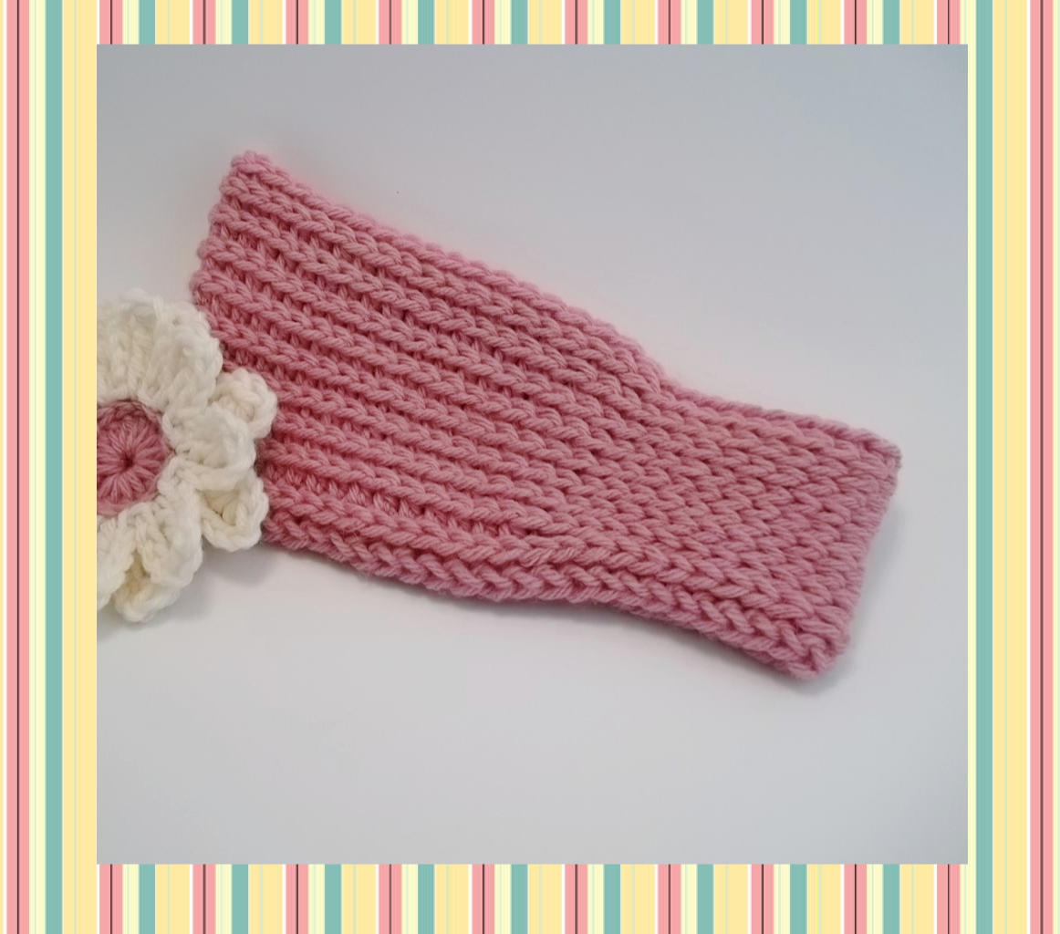 The Hook Hound: Braided, a knit look crochet headband pattern